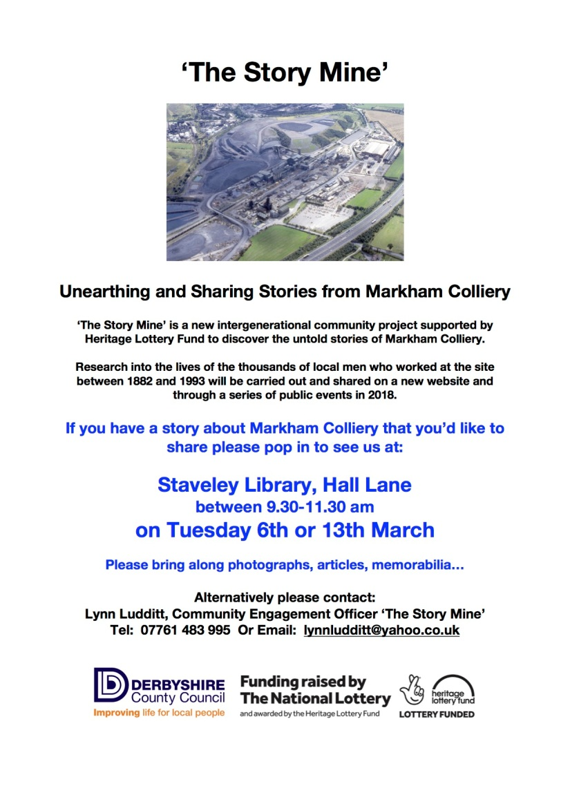 Staveley Library Drop In Sessions - PosterLL